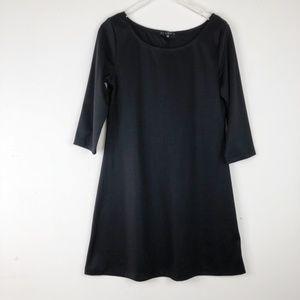 Tiana B. Plain Black Dress